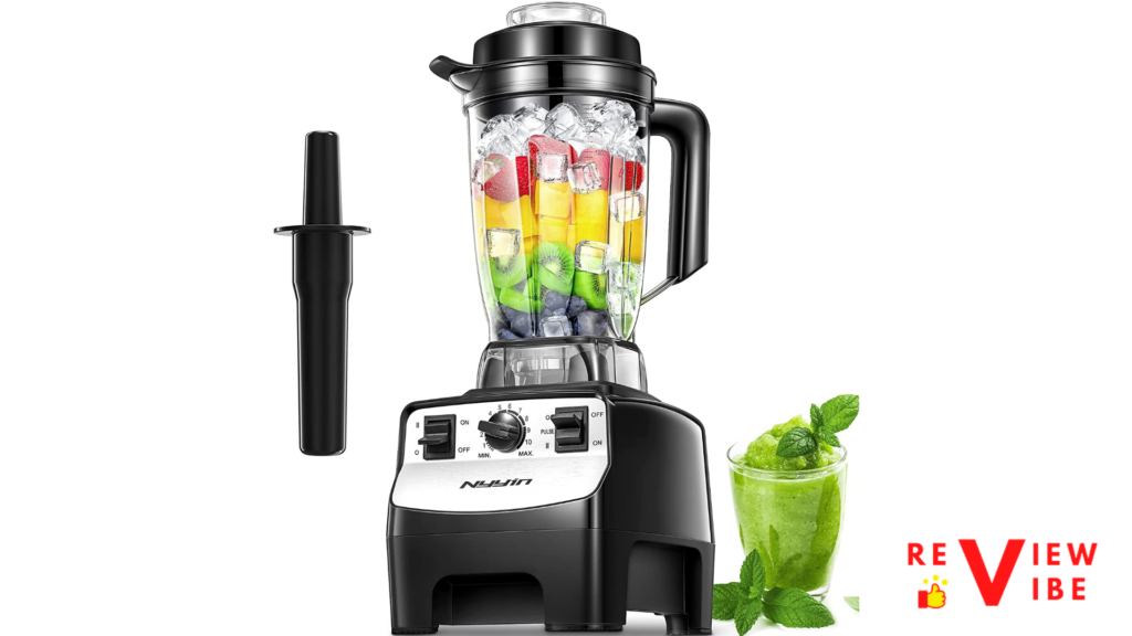 smoothie blender with jug and machine